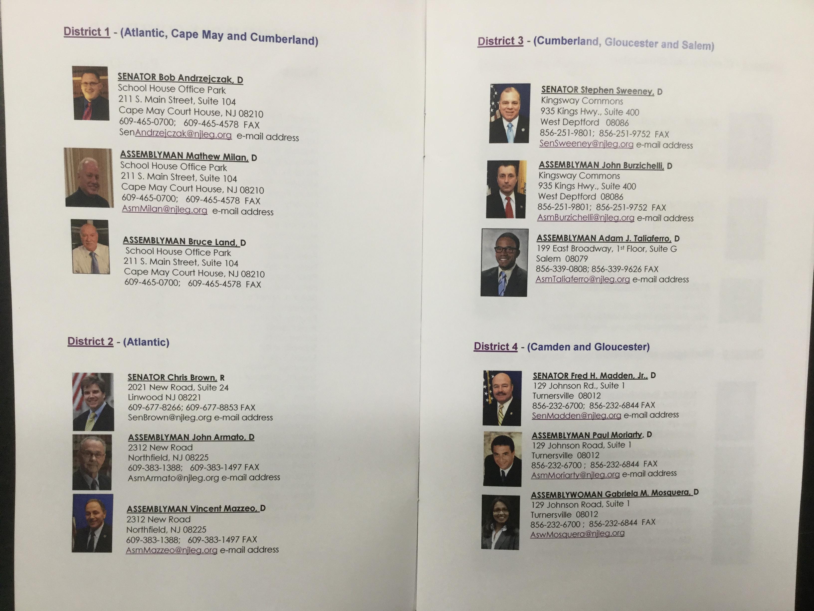 legislators LD 1-4