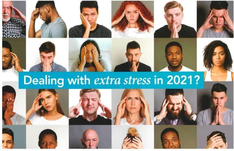 Feeling Stress? Need Help? Call AID NJEA.